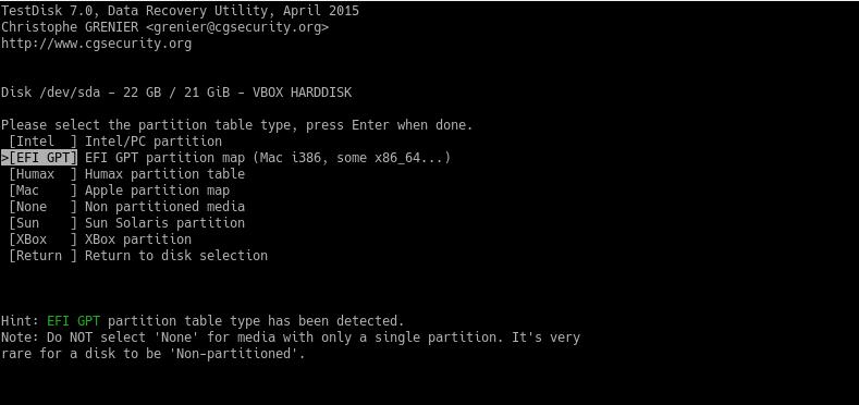 Восстановление удаленных файлов в Linux