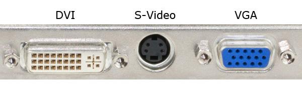 Старые видео порты
