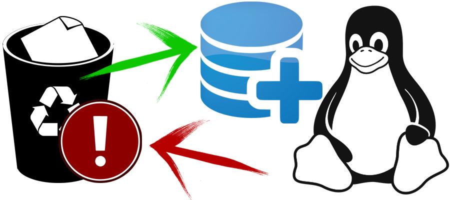 Восстановление удалённых файлов в Linux