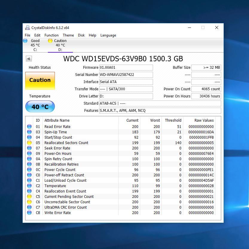 Как проверить здоровье, ресурс HDD, SSD