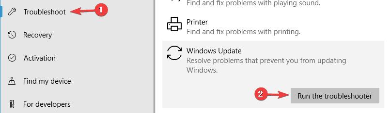 Ошибка обновления 0x80080005 в Windows
